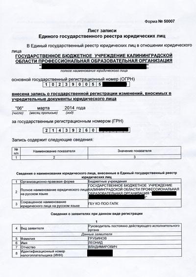Регистрация ооо в нахабино при регистрации в налоговой ип дают документы